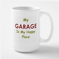 My Garage is my Happy Place Mug