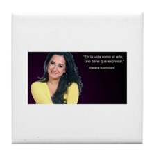 Mariana says... Tile Coaster