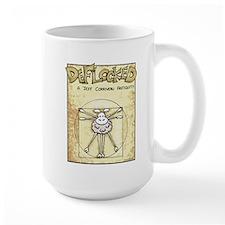 Vitruvian Mamet Large Mug