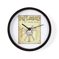 Vitruvian Mamet Wall Clock
