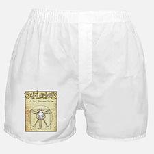 Vitruvian Mamet Boxer Shorts