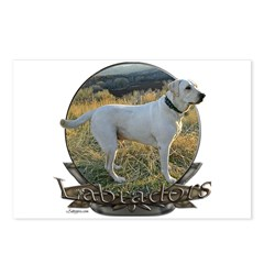 Labradors Postcards (Package of 8)