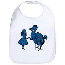 Alice and Dodo Blue Fill Bib