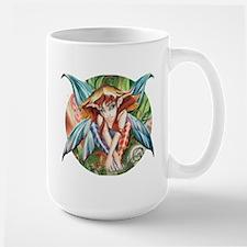Ruth Thompson's Whimsey Faerie Large Mug