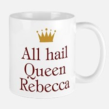 Personalized All Hail Queen Mug