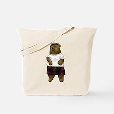 Cute Highland games Tote Bag