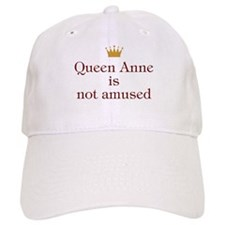Personalized Queen Not Amused Baseball Cap
