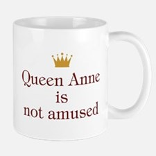 Personalized Queen Not Amused Mug