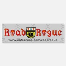 Road Rogue Trucker Bumper Bumper Bumper Sticker