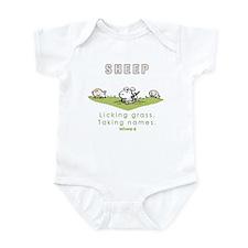 Licking Grass, Taking Names Infant Bodysuit