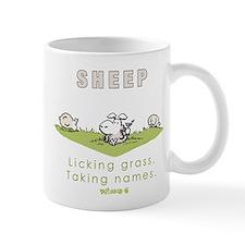 Licking Grass, Taking Names Mug