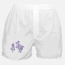 Alice and Dodo Lavender Boxer Shorts
