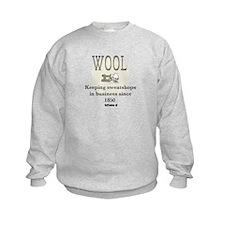DeFlocked Wool Kids Sweatshirt