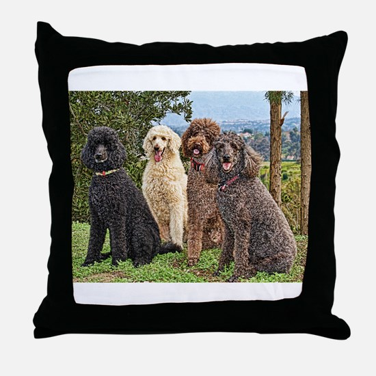 Cute Curly Throw Pillow
