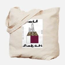 Qatar Oil Patch Tote Bag