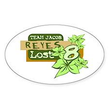 Team Jacob - Reyes 8 Decal