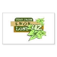 Team Jacob - Kwon 42 Bumper Stickers