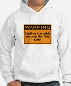 Warning or you'll end up on m Hoodie