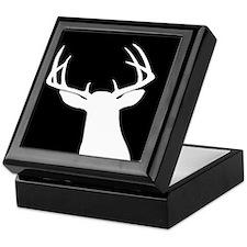 BUCK SILLHOUETTE Keepsake Box