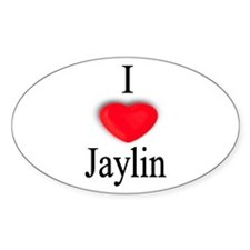 Jaylin Oval Decal