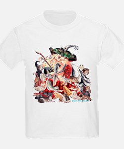 RT's Faerie Witch of Cats T-Shirt