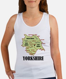 Yorkshire Map Women's Tank Top