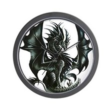 RThompson's Obsidian Dragon Wall Clock