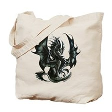RThompson's Obsidian Dragon Tote Bag