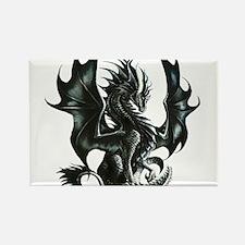 RThompson's Obsidian Dragon Rectangle Magnet