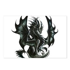 RThompson's Obsidian Dragon Postcards (Package of