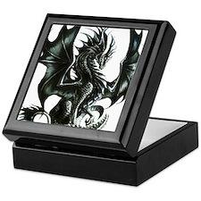 RThompson's Obsidian Dragon Keepsake Box