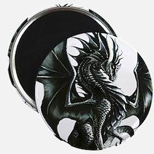 """RThompson's Obsidian Dragon 2.25"""" Magnet (10 pack)"""