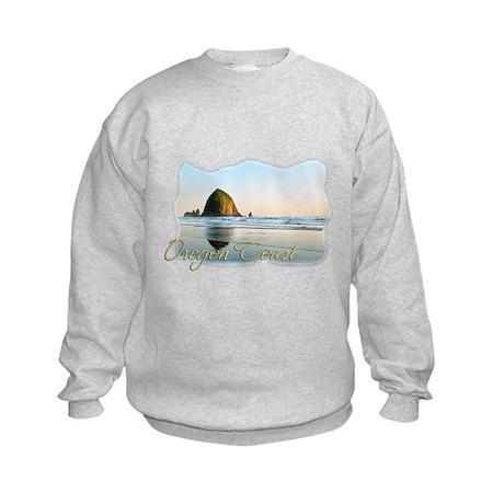 Haystack Rock Kids Sweatshirt