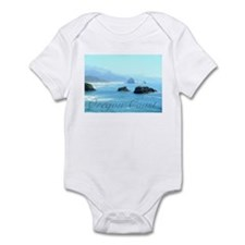 Oregon Coast Blue Infant Bodysuit