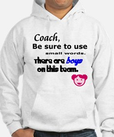 Use Small Words Hoodie