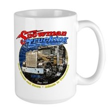 Snowman Trucking Coffee Mug