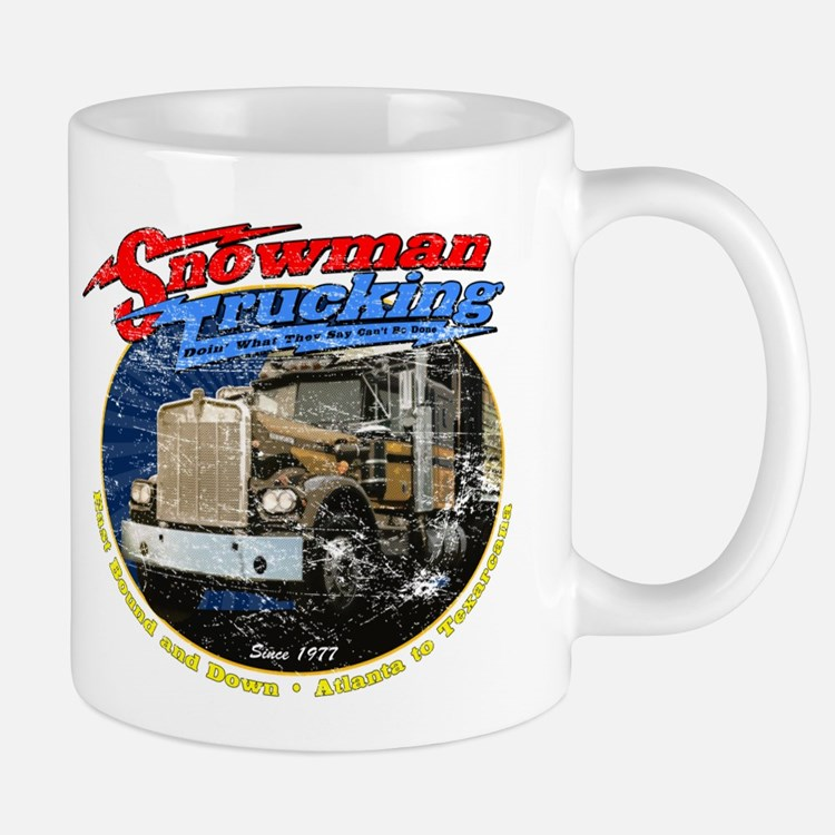 Snowman Trucking Mug