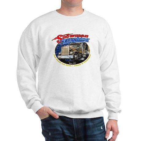 Snowman Trucking Sweatshirt
