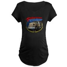 Snowman Trucking T-Shirt