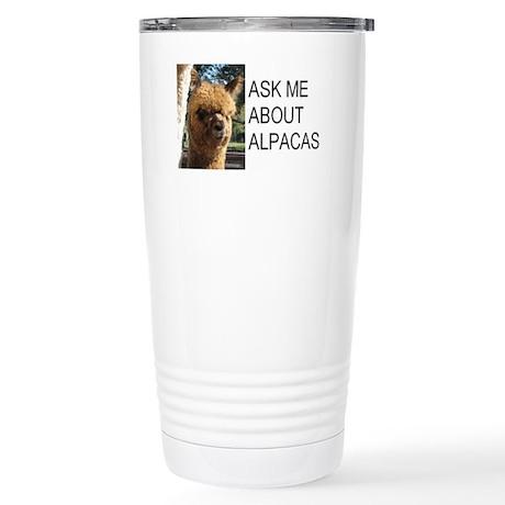 Samsuri Alpaca Giftware Stainless Steel Travel Mug