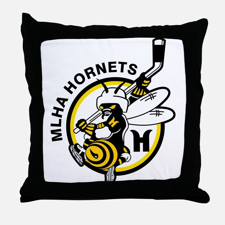 Hornets Throw Pillow