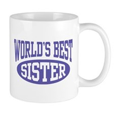 World's Best Sister Small Mugs