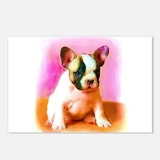 French Bulldog Art Postcards (Package of 8)