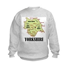 Yorkshire Map Sweatshirt