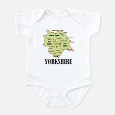 Yorkshire Map Infant Bodysuit