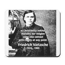 Nietzsche Religion Morality Mousepad