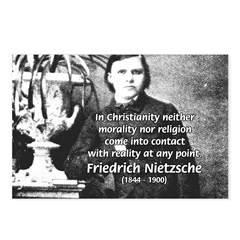 Nietzsche Religion Morality Postcards (Package of