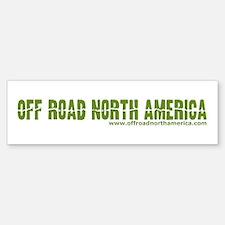 Off Road North America Bumper Bumper Sticker