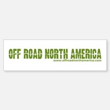 Off Road North America Sticker (Bumper)