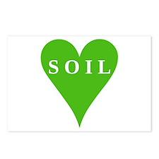 SOIL Love Postcards (Package of 8)